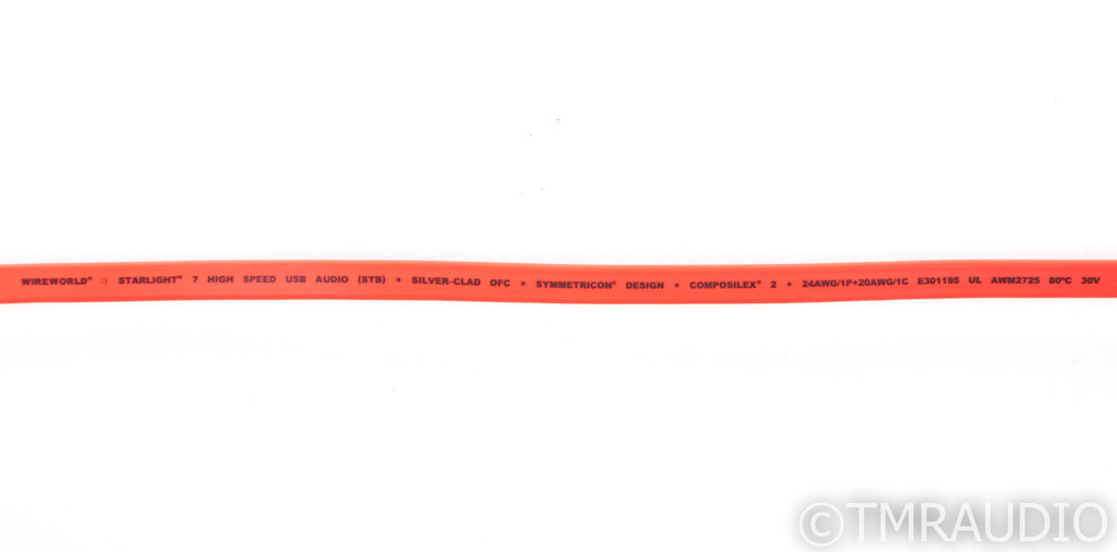 Wireworld Starlight 7 USB 2.0 Digital Cable; Single 1m Interconnect