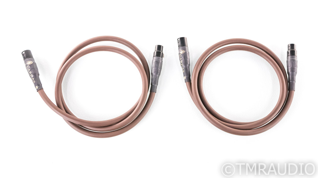 Cardas Golden Presence XLR Cables; 1.5m Pair Balanced Interconnects