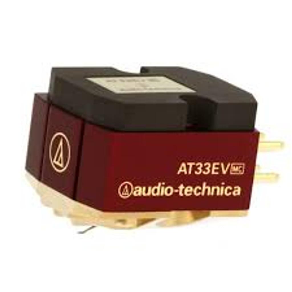 Audio-Technica AT33EV Moving Coil Phono Cartridge; AT-33EV; MC (New)