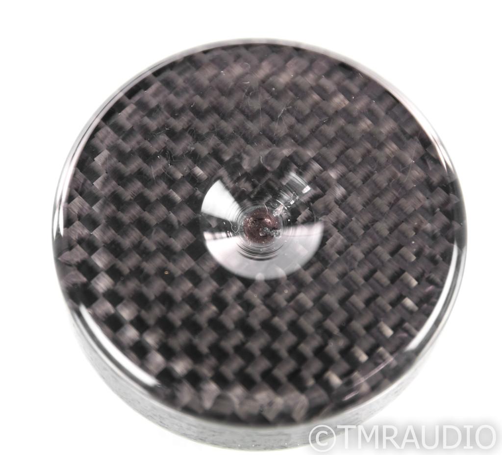 Black Diamond Racing Mini Pits Mk 4 Carbon Fiber Isolation Feet; Set of 6