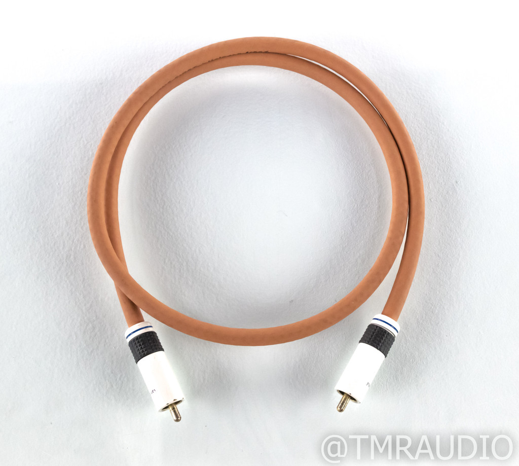 Van Den Hul The First RCA Coaxial Digital Cable; Single 2ft Interconnect; LSC