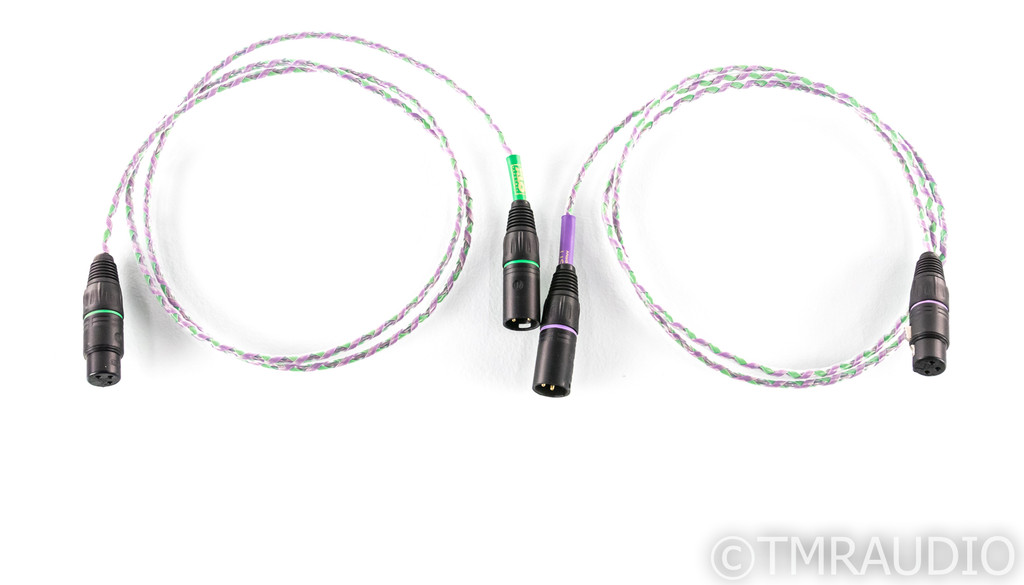 XLO Reference Type 2 XLR Cables; 1.5m Pair Balanced Interconnects