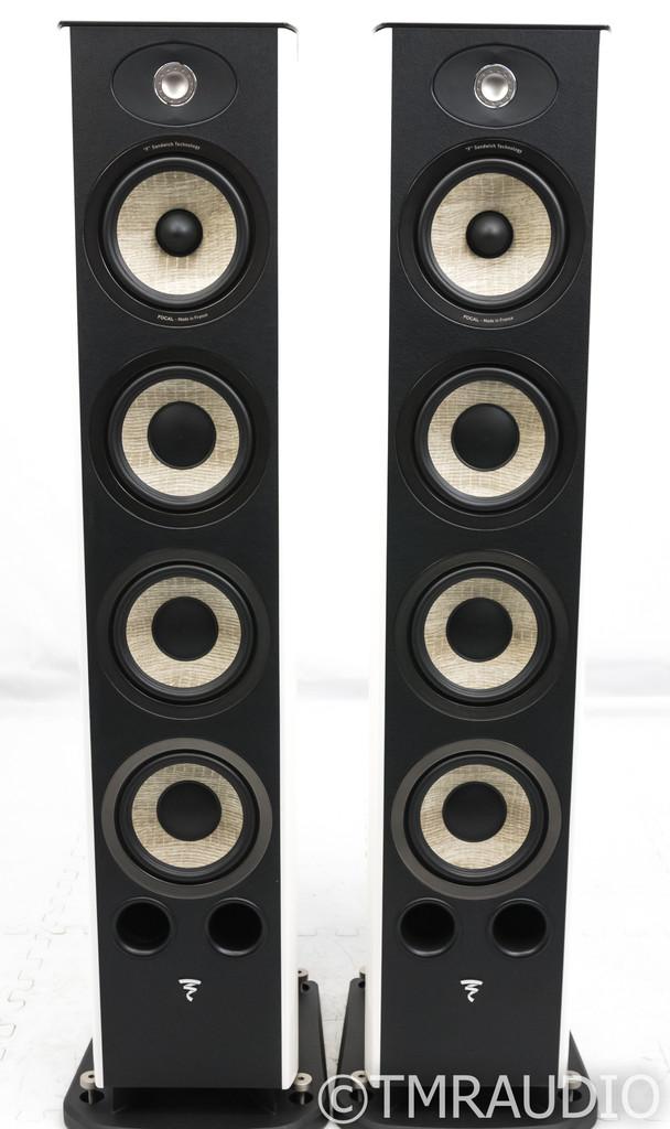 Focal Aria 936 Floorstanding Speakers; White Lacquer Pair