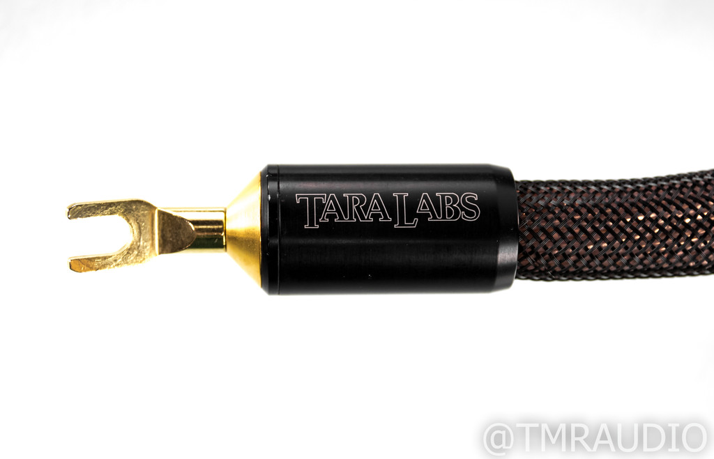 Tara Labs The Omega Evolution SP Speaker Cables; 8ft Pair