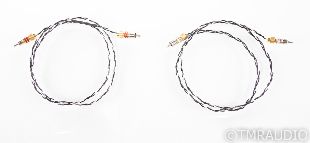 Kimber Kable Silver Streak SE RCA Cables; 1m Pair Interconnects