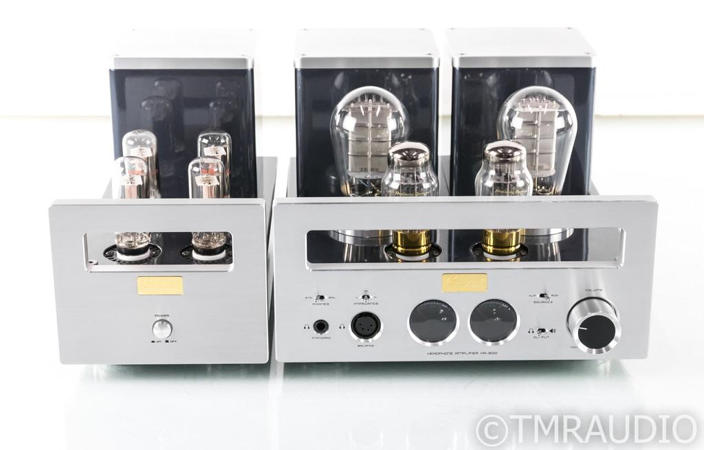 Cayin HA-300 Stereo Tube Headphone / Speaker Amplifier; HA300; 300-B
