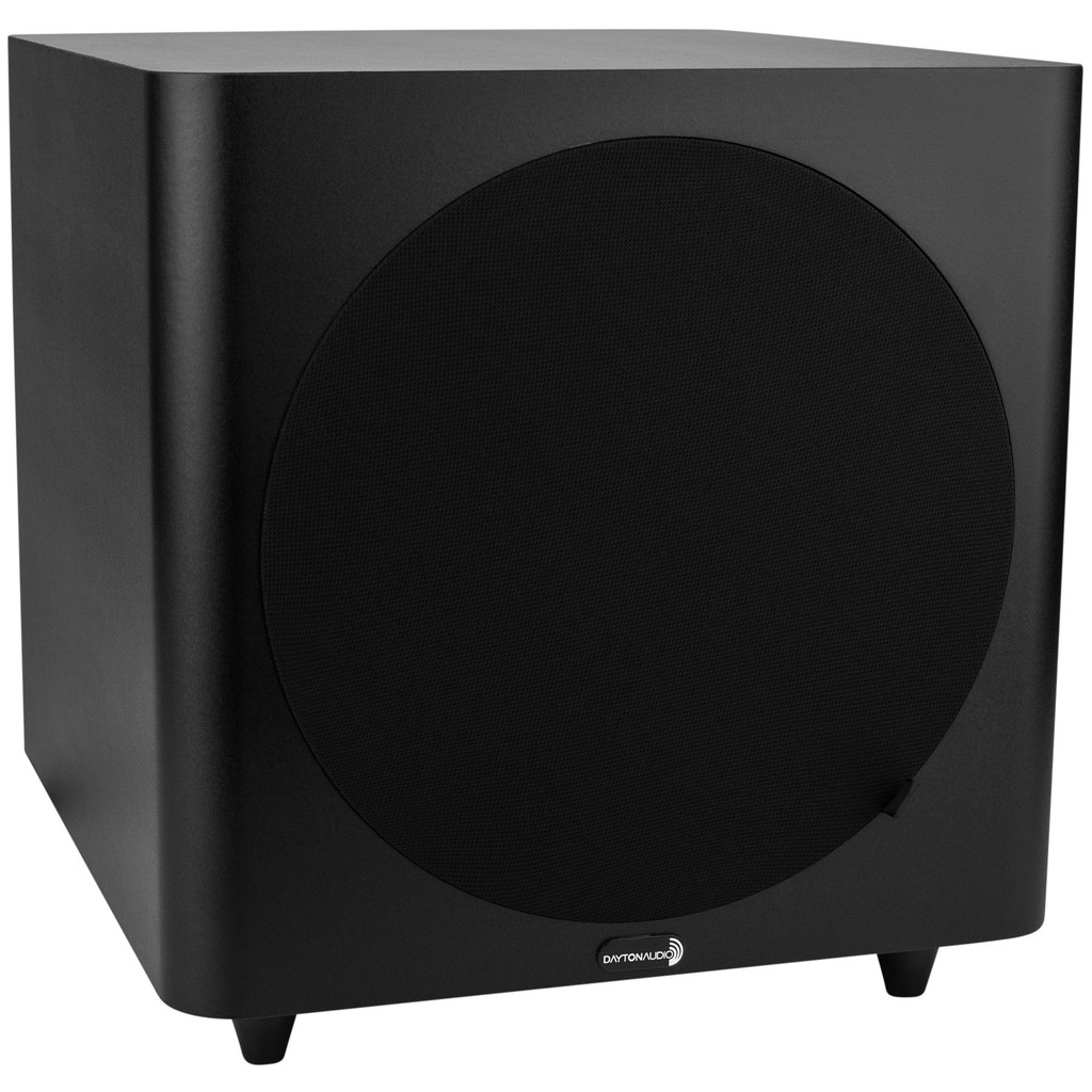 "Dayton Audio SUB-1000 Powered 10"" Subwoofer; Black; SUB1000 (New)"