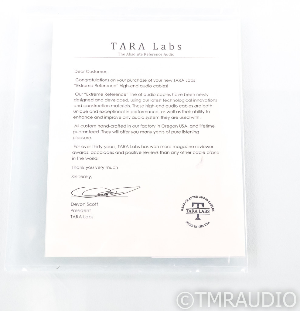 Tara Labs The 0.8 BNC Digital Cable w/ ISM Onboard; Single 1m Interconnect; 08