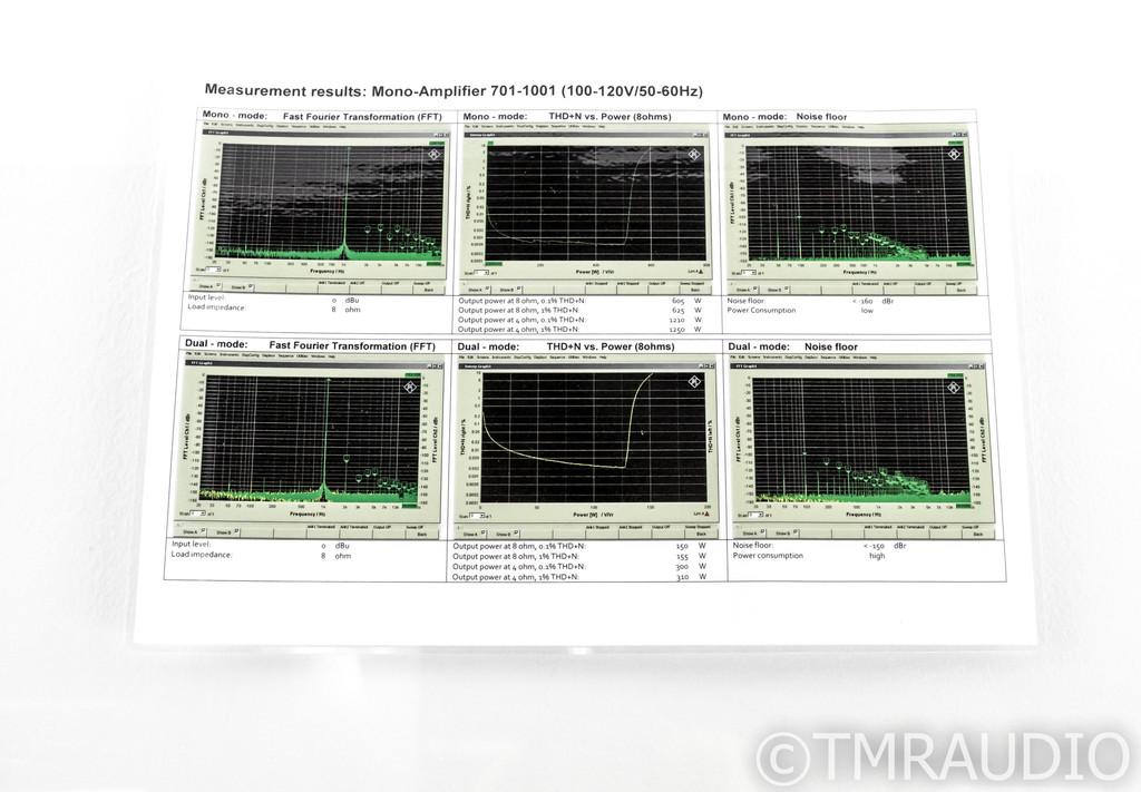 Soulution 701 Mono Power Amplifier; Pair