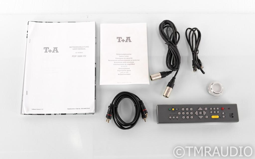 T+A PDP 3000 HV SACD Player / DAC; Elektroakustik; Remote