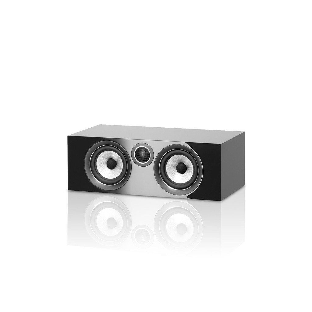 B&W HTM72 S2 Center Channel Speaker; HTM-72; Gloss Black (New)