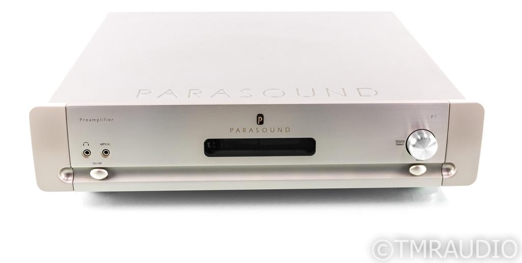 Parasound Halo P7 7.1 Channel Preamplifier; P-7; MM/MC Phono; Remote