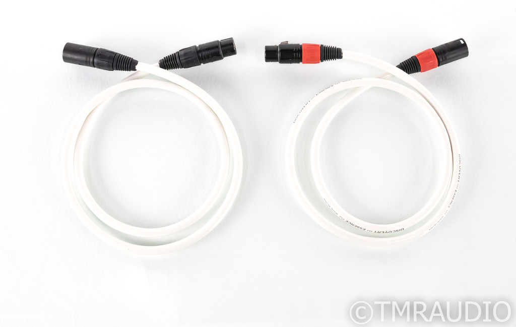 Discovery Cable Essence XLR Cables; 1m Pair Balanced Interconnects