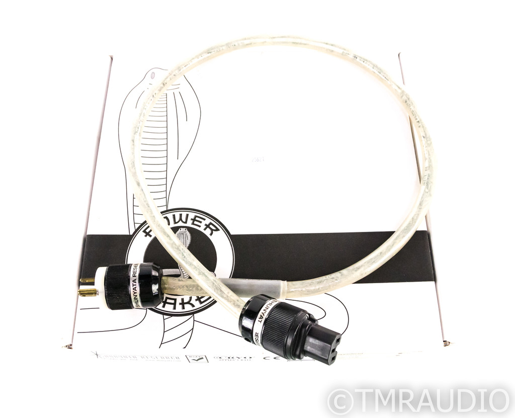 Shunyata Research Copperhead Power Cable; 1m AC Cord