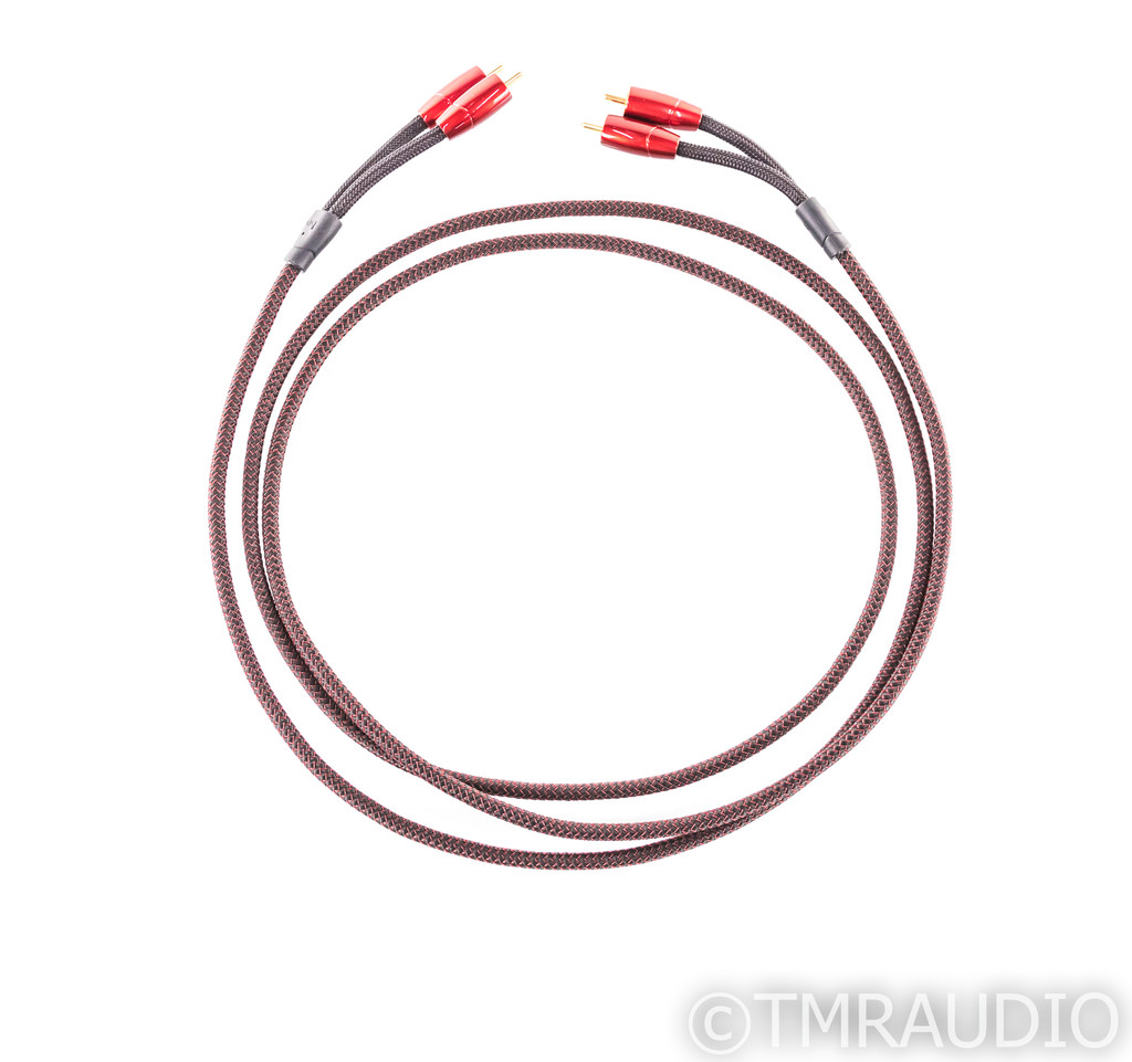 AudioQuest Golden Gate RCA Cables; 2m Pair Interconnects
