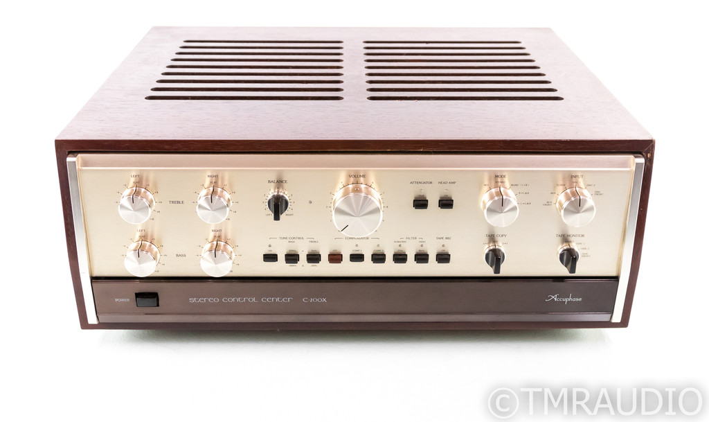 Accuphase C-200X Vintage Stereo Preamplifier; C200X; MM/MC Phono