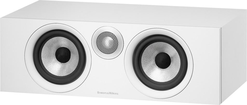 B&W HTM6 Center Channel Speaker; White (New)