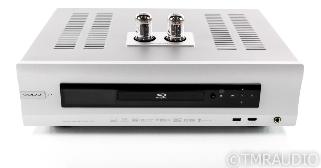 Oppo BDP-105D Universal Blu-Ray Player; Darbee Edition; ModWright Truth Tube Mod