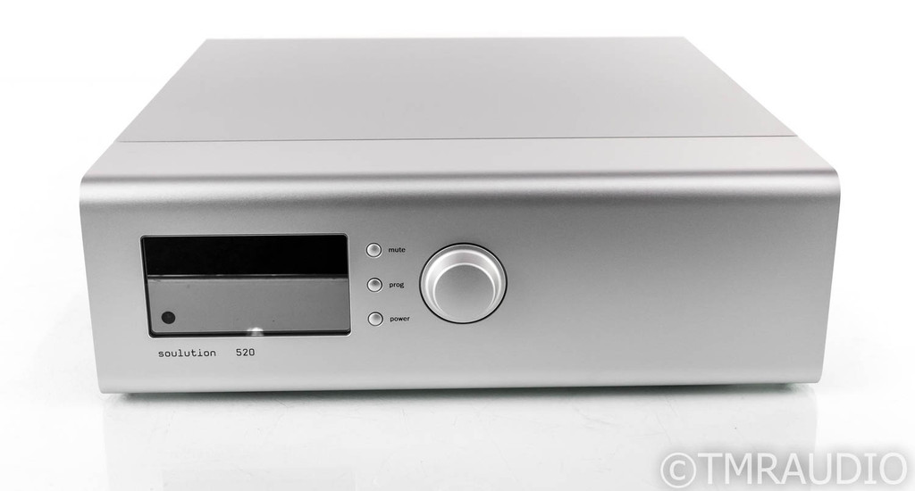 Soulution 520 Stereo Preamplifier; MC Phono