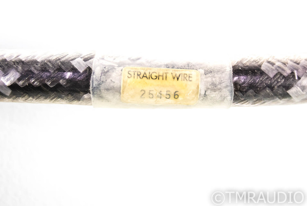 Straight Wire Crescendo II XLR Cables; .5m Pair Balanced Interconnects