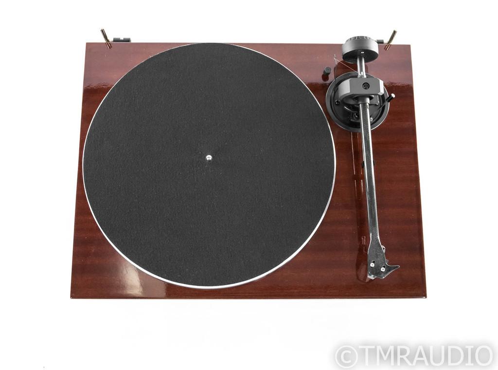 Pro-Ject 1Xpression Carbon Classic Turntable; Mahogany; Ortofon 2M Silver (Demo)