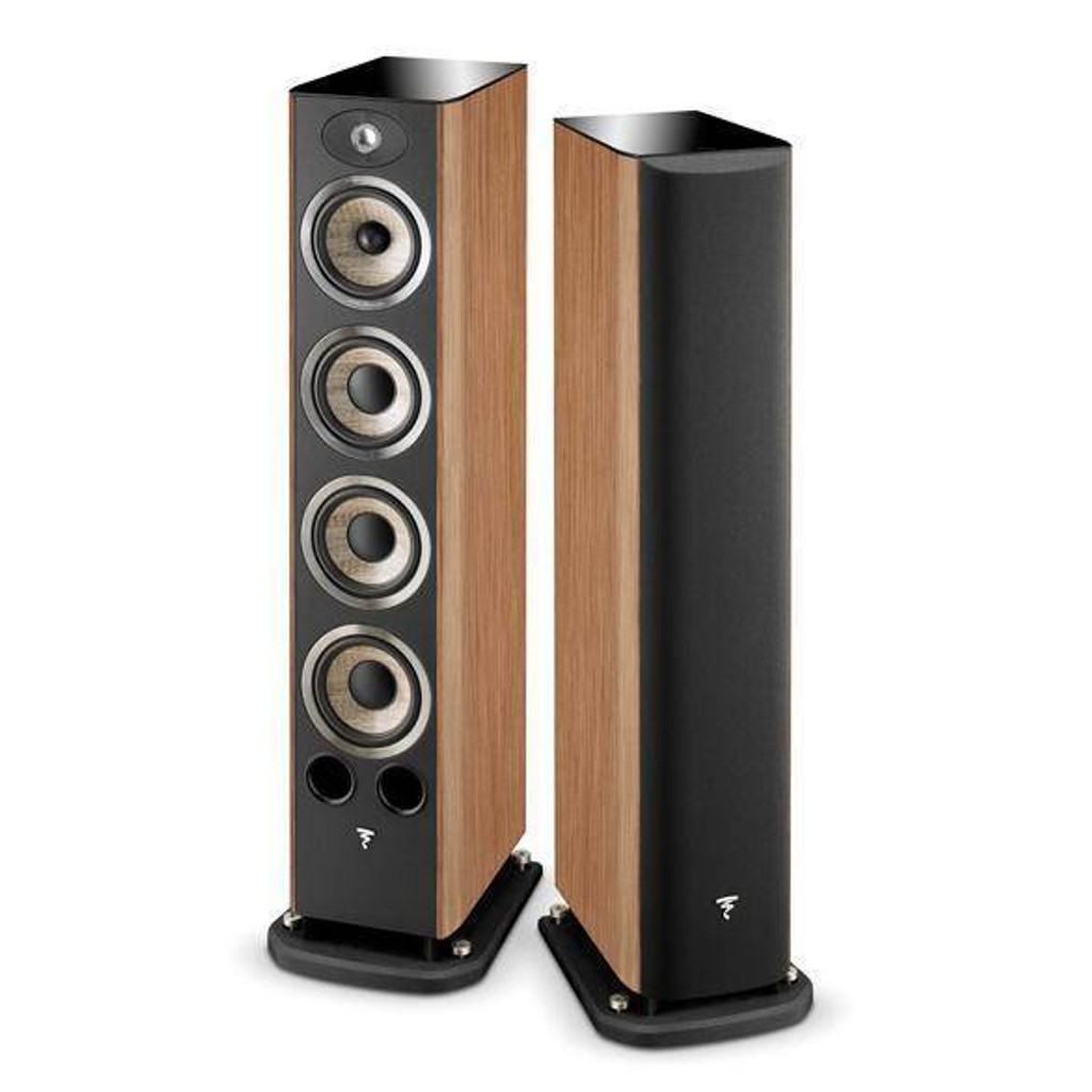 Focal Aria 936 Floorstanding Speakers; Prime Walnut Pair (1/3)