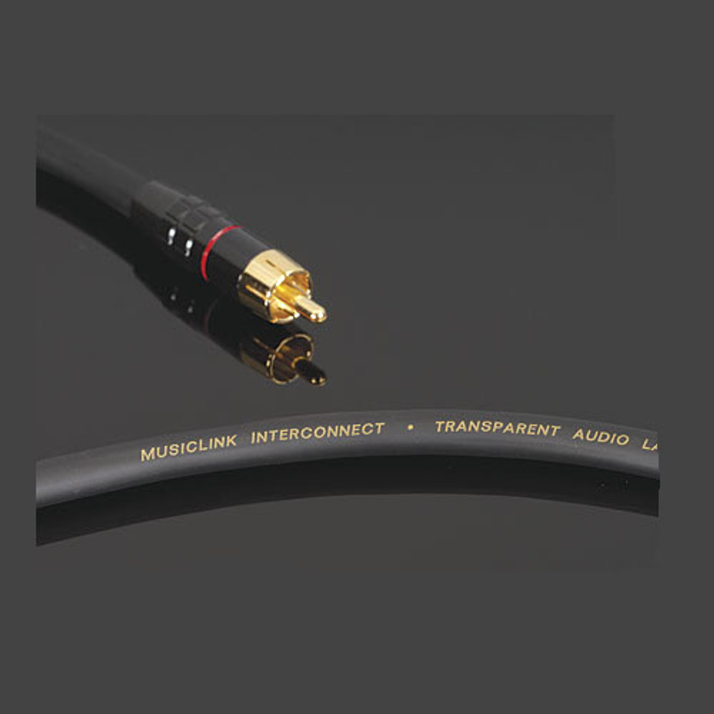 Transparent Audio MusicLink RCA Cable; Single 2m Interconnect (New)