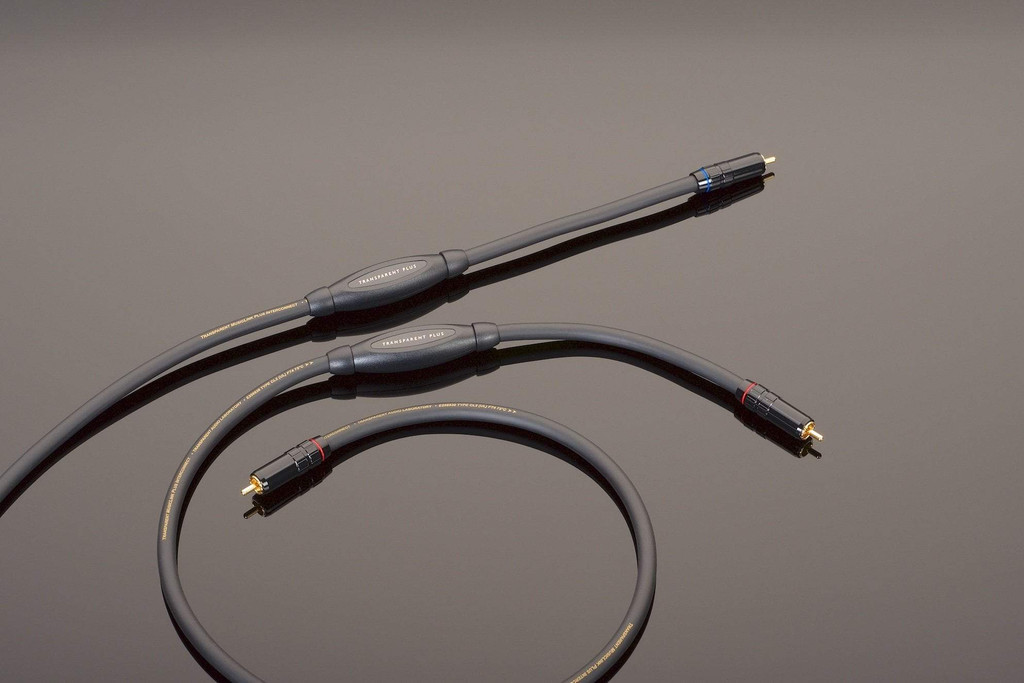 Transparent Audio MusicLink Plus RCA Cable; Single 2m Interconnect; MM2 (New)