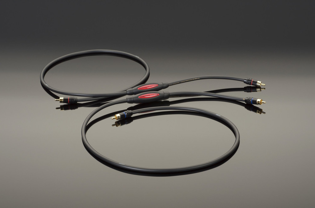 Transparent Audio The Link Gen5 RCA Cables; 1m Pair Interconnects (New)
