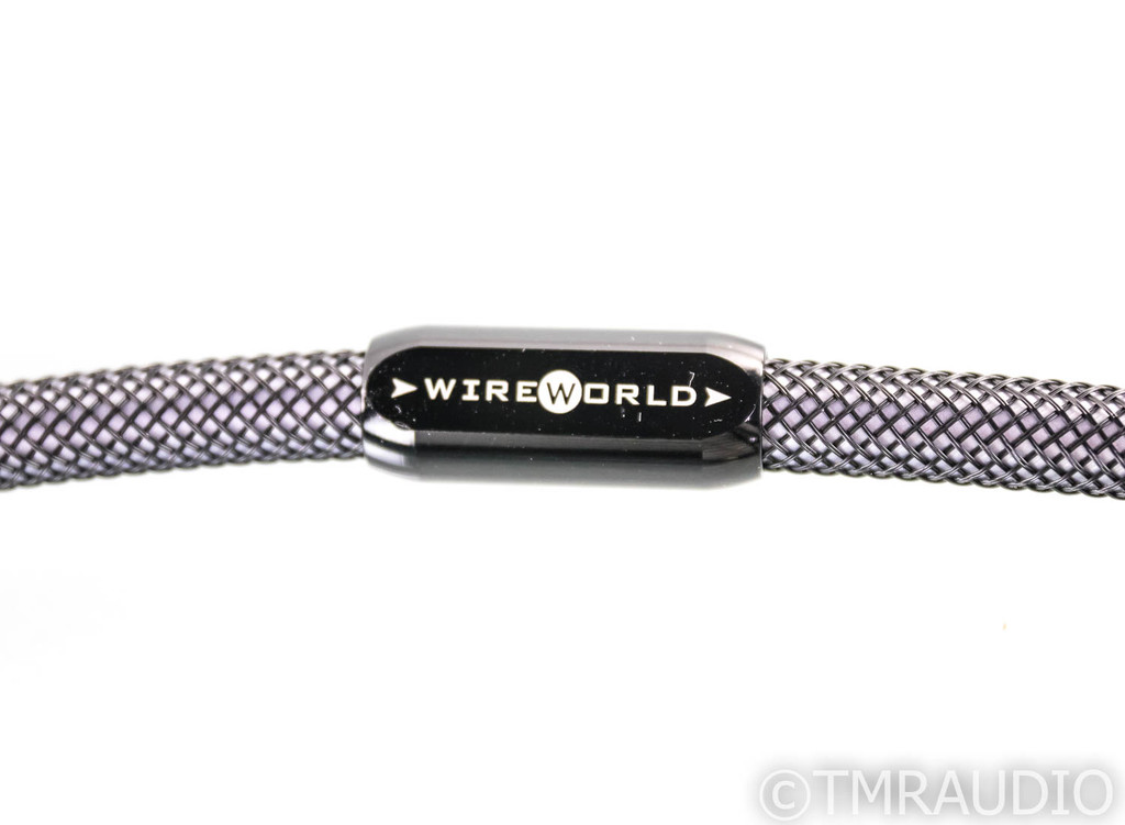 WireWorld Silver Eclipse 6 XLR Cables; 1m Pair Balanced Interconnects