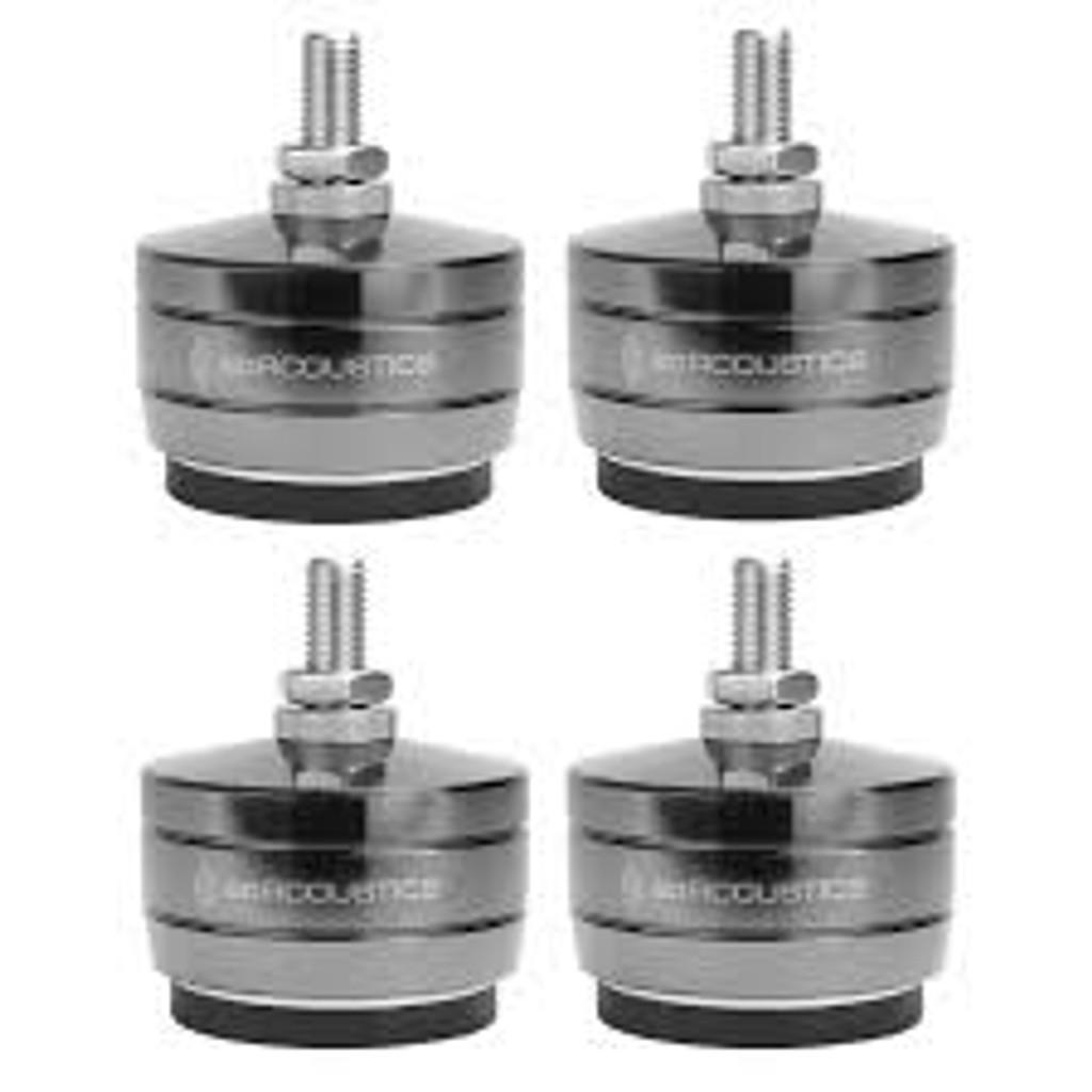 IsoAcoustics Gaia Titan Rhea Isolators; Set of 4; New w/ Full Warranty
