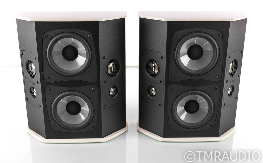 Mirage HDT-R Omnipolar Custom Surround Speakers; White Pair