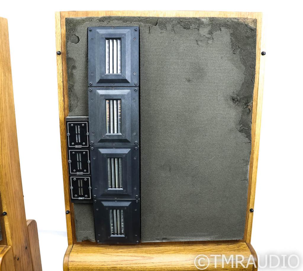 Infinity RS-4.5 Vintage Floorstanding Speakers; Oak Pair; RS4-5; Restored - Rare