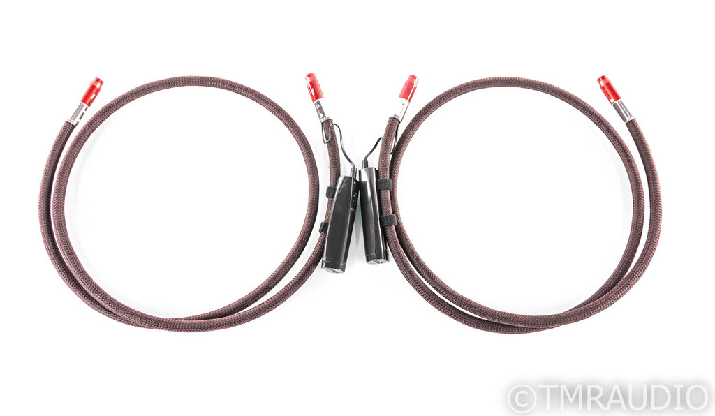 AudioQuest Fire RCA Cables; 1.5m Pair Interconnects; 72v DBS (Demo)