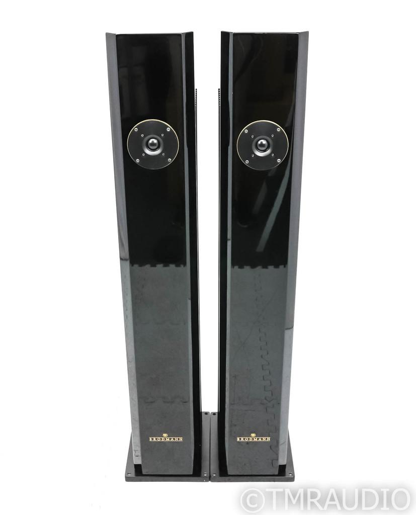 Brodmann Festival F2 Floorstanding Speakers; Gloss Black Pair (Demo w/ Warranty)