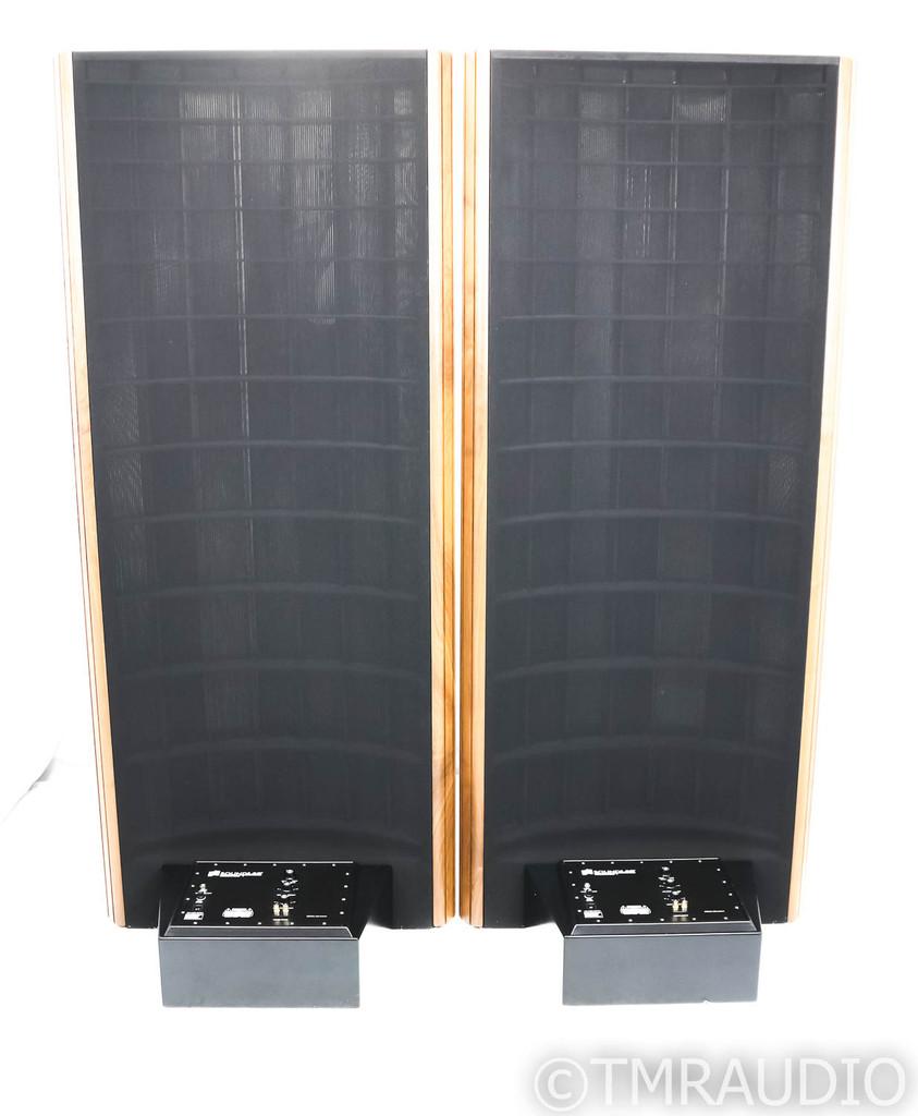 Sound Lab Millennium-1 Floorstanding Electrostatic Speakers; M-1; Black Pair