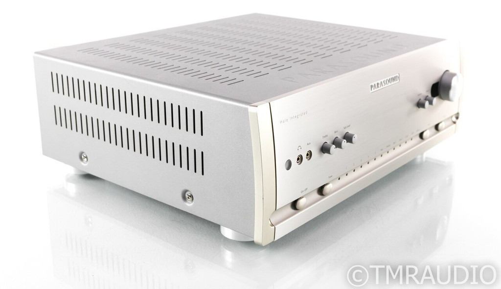 Parasound Halo Hint 6 Stereo Integrated Amplifier; MM / MC Phono; Remote