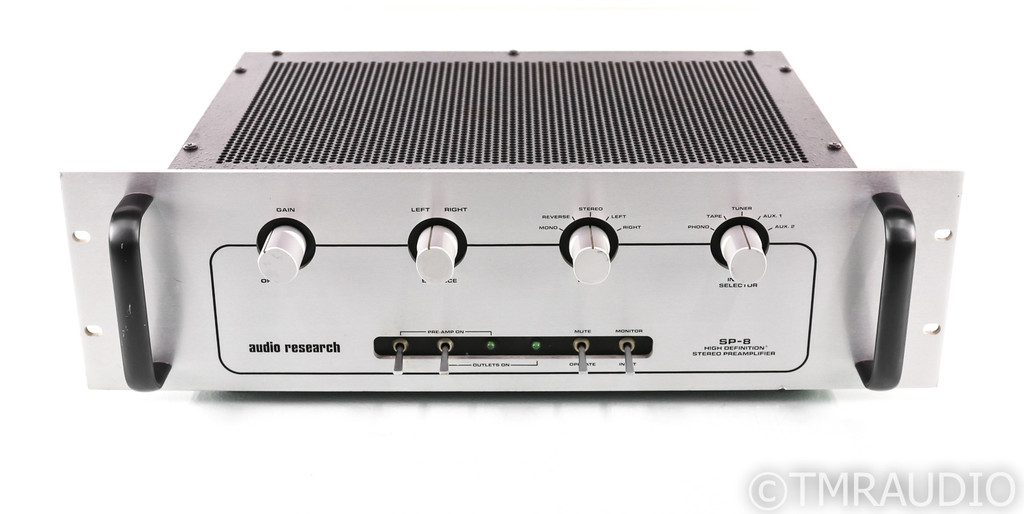 Audio Research SP-8 Rev1 Vintage Stereo Tube Preamplifier; Factory Serviced