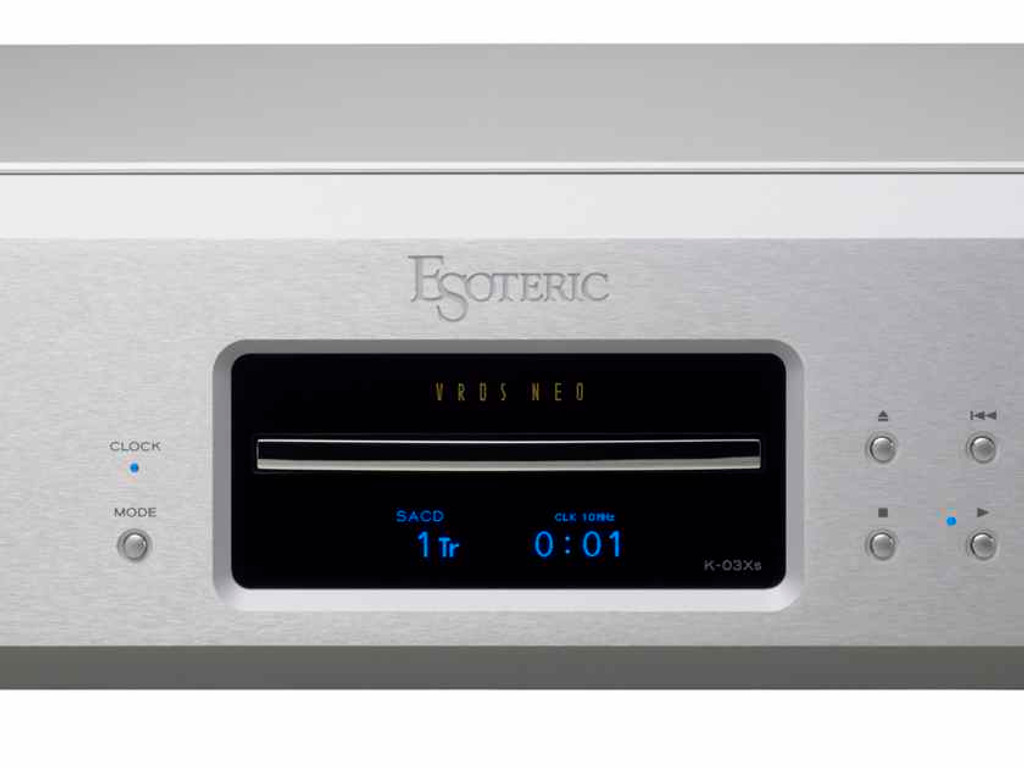 Esoteric K-03Xs CD / SACD Player; K03XS; Silver (New)