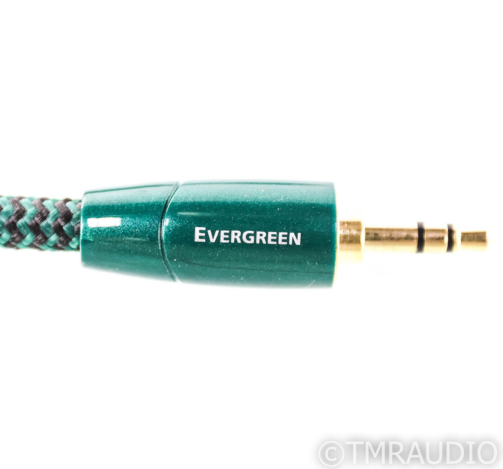 AudioQuest Evergreen 3.5mm to RCA Y-Splitter Cable; Single .6m Interconnect