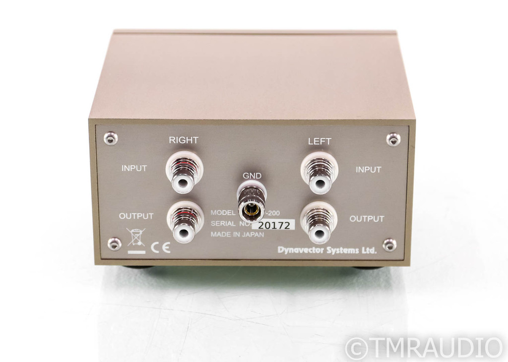 Dynavector SUP-200 MC Phono Step-Up Transformer; SUP200; Head Amp (SOLD)
