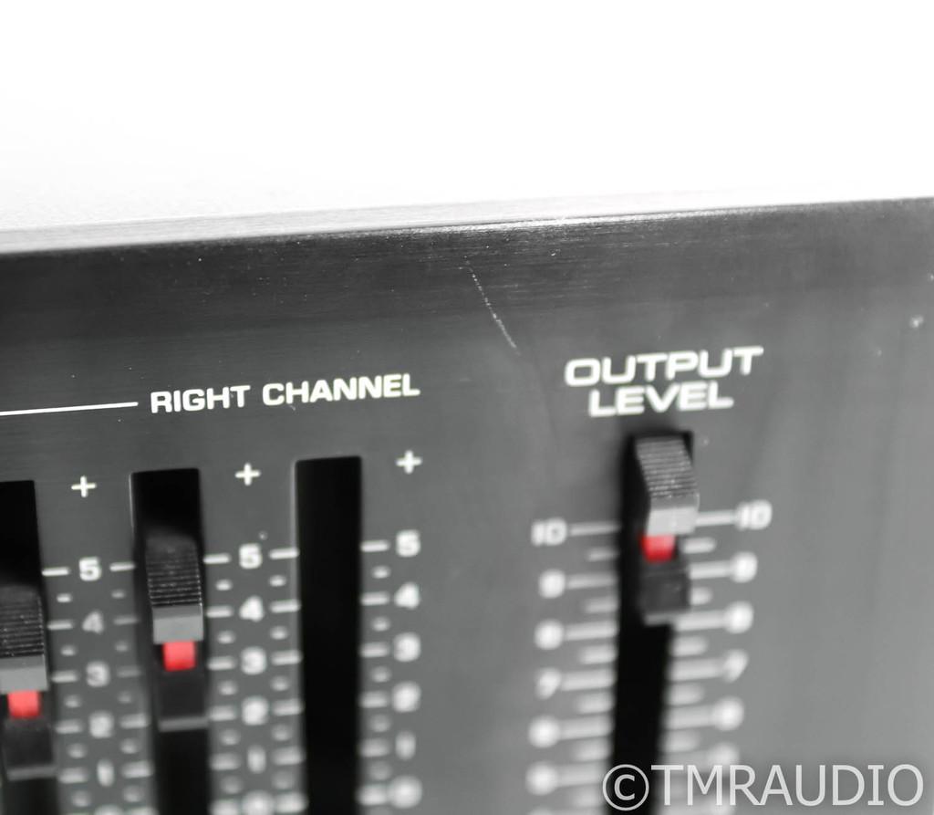 Yamaha EQ-550 Stereo Graphic Equalizer; EQ550; Black