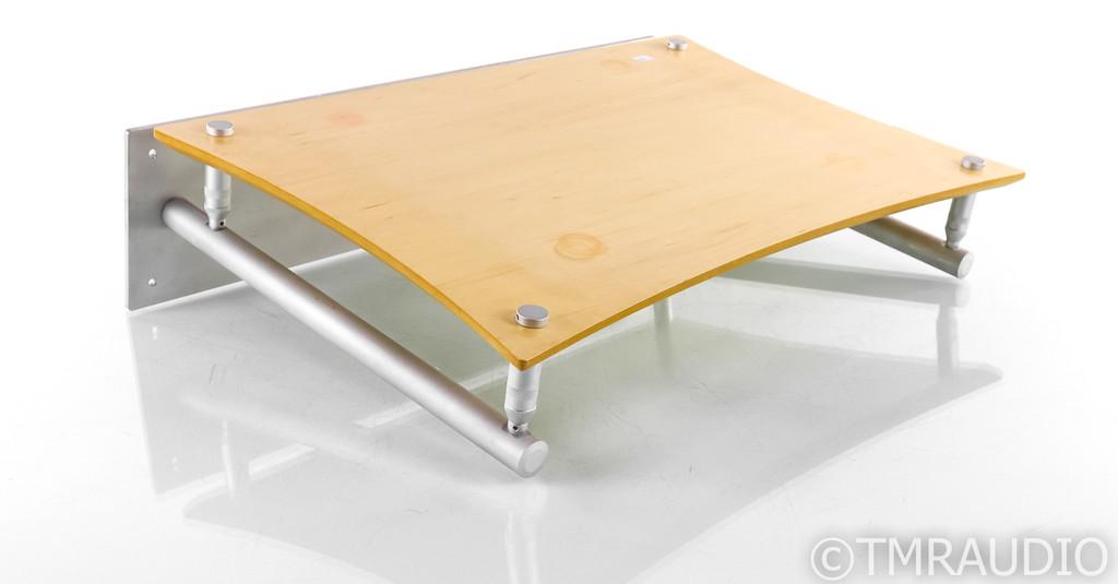 Quadraspire Wall-Mount Turntable Isolation Shelf; Q4 EVO; Maple