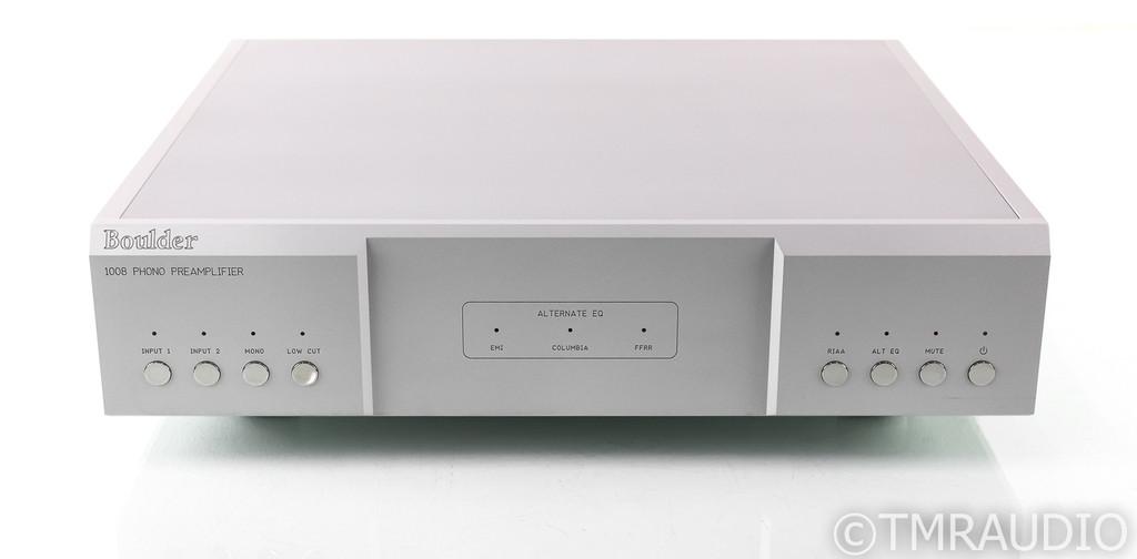 Boulder 1008 MM / MC Phono Preamplifier; Balanced; Remote