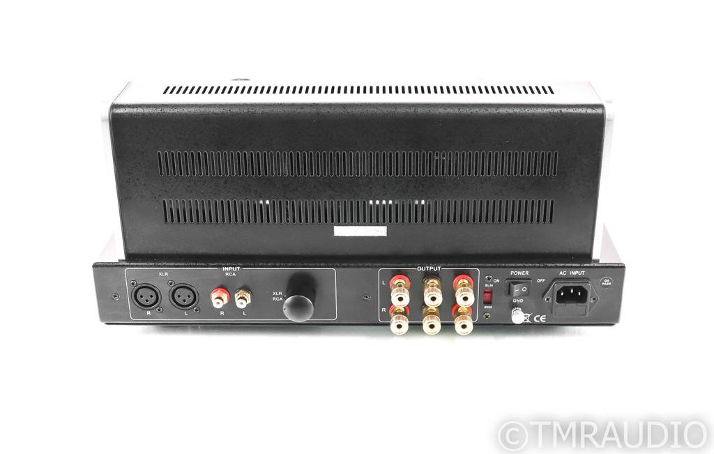 Black Ice Audio Fusion 3502P Stereo Tube Power Amplifier; 3502-P; Jolida (1/2)