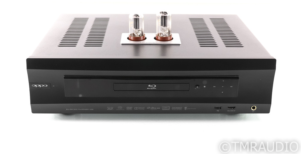 Oppo BDP-105D Universal Blu-Ray Player; ModWright Truth Tube Upgrades; Remote