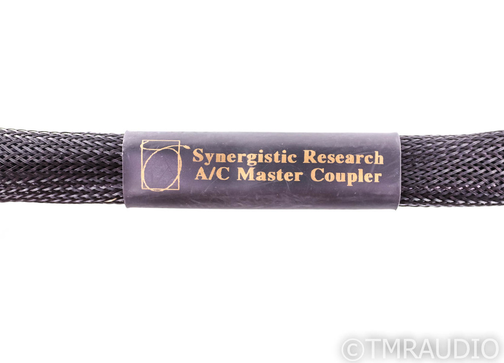 Synergistic Research A/C Master Coupler Power Cable; 5ft Right Angle AC Cord