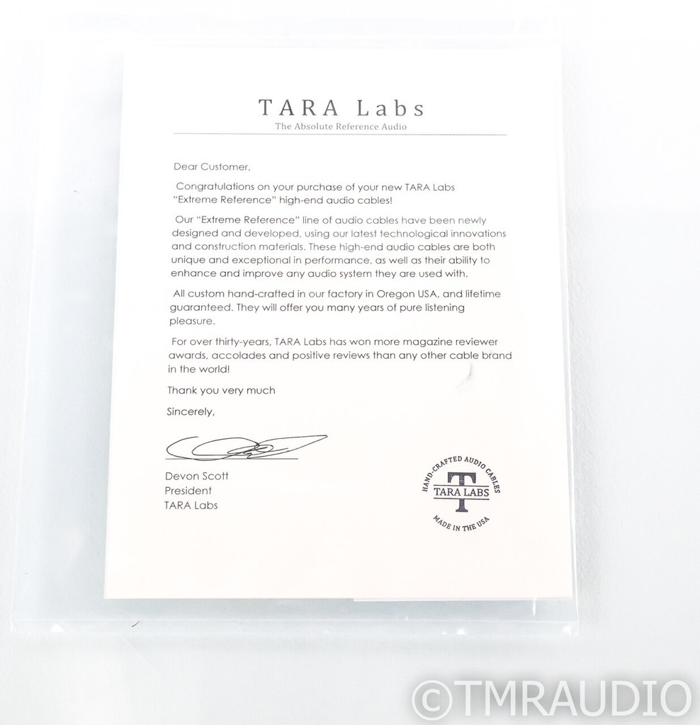 Tara Labs The 0.8 BNC Digital Cable w/ ISM Onboard; Single 1m Interconnect; 08 (1/3)