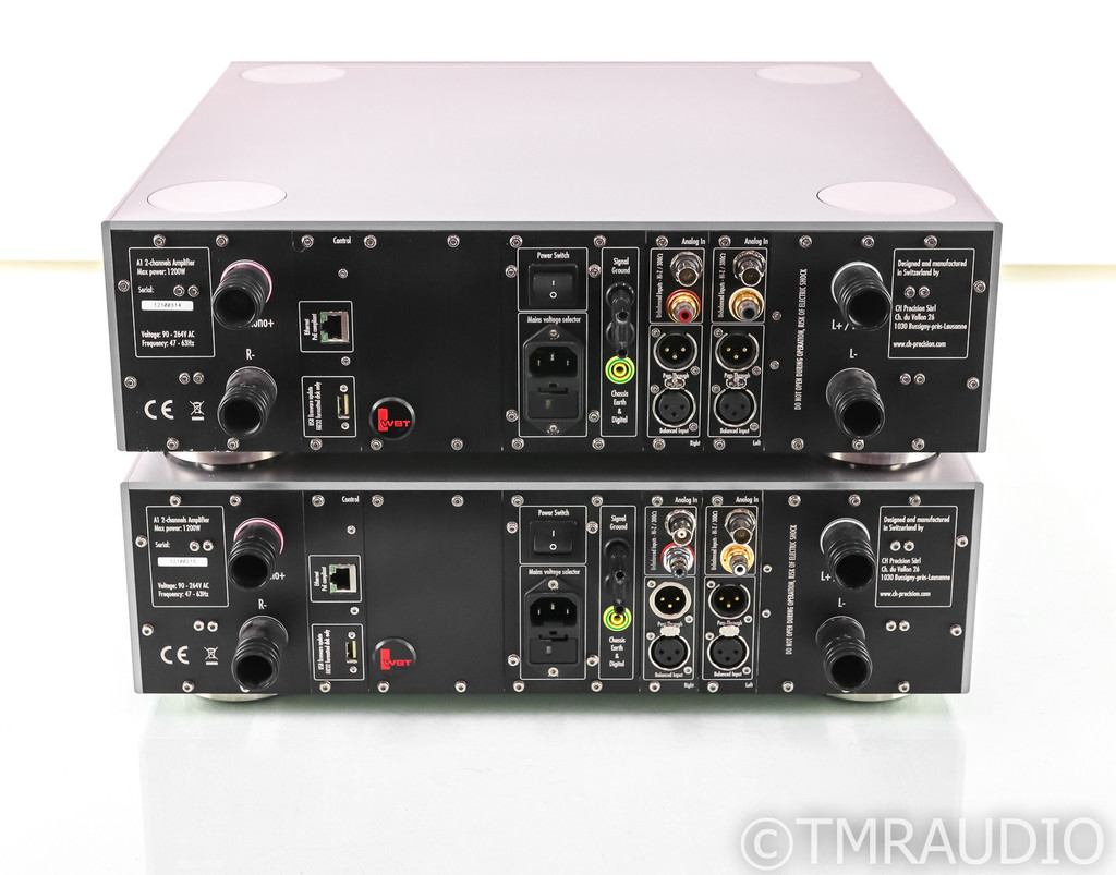 CH Precision A1 Mono / Stereo Power Amplifier; Pair; A-1; Stereo Option