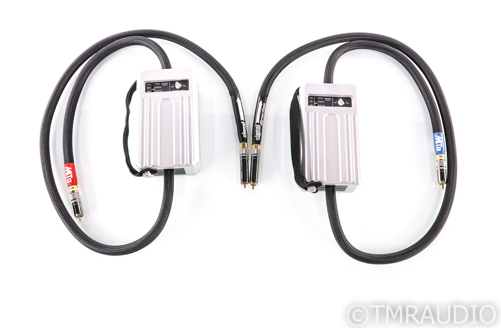 MIT Oracle MA RCA Cables; 1.5m Pair Interconnects; Adjustable Impedance